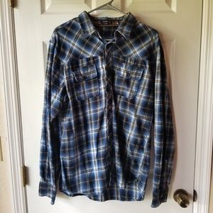 No Brand Flannel Plaid Casual Fall Winter Shirt